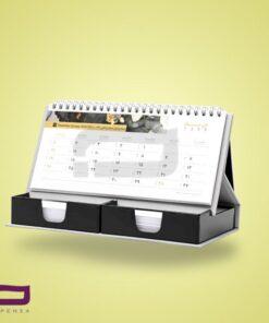 تقویم رو میزی Z7258 دارای جای یادداشت