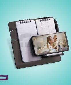 تقویم رو میزی Z7254 با قابلیت استند موبایل